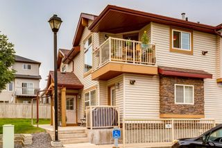 Photo 1: 201 60 Panatella Landing NW in Calgary: Panorama Hills Row/Townhouse for sale : MLS®# A1139164