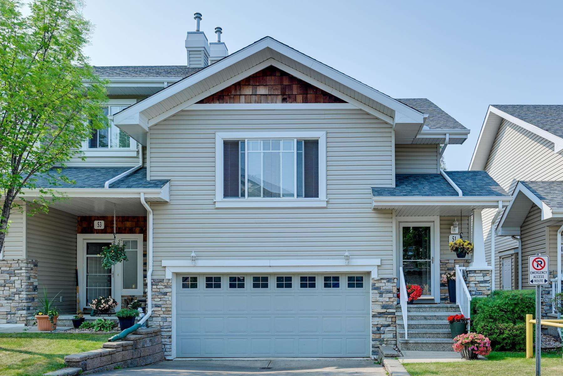 Main Photo: 51 2508 HANNA Crescent in Edmonton: Zone 14 Townhouse for sale : MLS®# E4256333