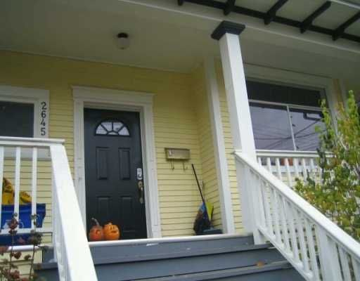 Photo 2: Photos: 2645 CAROLINA ST in : Mount Pleasant VE House for sale : MLS®# V620274