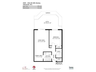 Photo 13: 103 1412 W 14TH Avenue in Vancouver: Fairview VW Condo for sale (Vancouver West)  : MLS®# R2048701