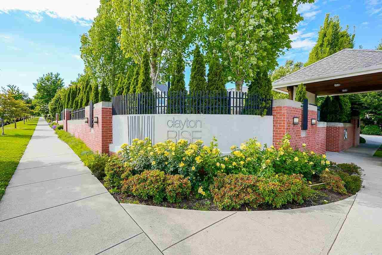 """Main Photo: 8 19505 68A Avenue in Surrey: Clayton Townhouse for sale in """"Clayton Rise"""" (Cloverdale)  : MLS®# R2590562"""