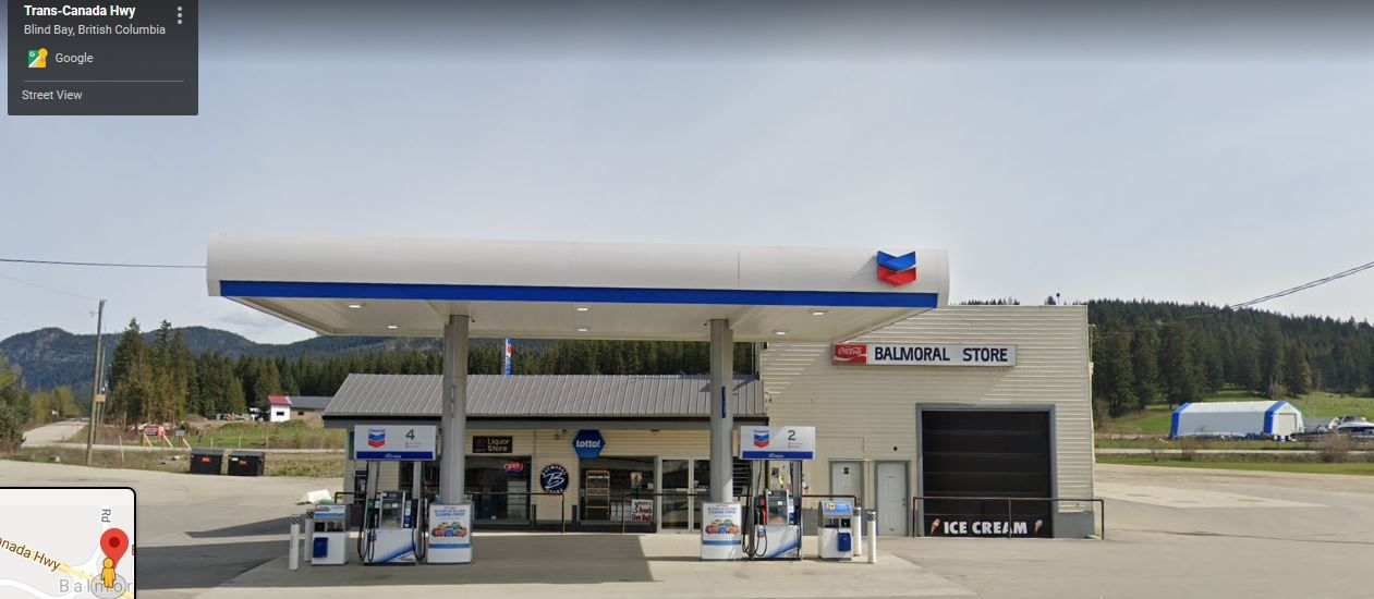 Main Photo: 3107 TRANS CANADA HWY, BC in Sorrento: FVREB Out of Town Business with Property for sale