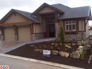 Photo 1: 4 35520 MAHOGANY Drive in Abbotsford: Abbotsford East House for sale : MLS®# F1123766