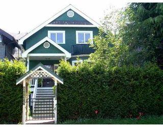 Photo 1: 2834 2836 W 3RD AV in Vancouver: Kitsilano House for sale (Vancouver West)  : MLS®# V536094