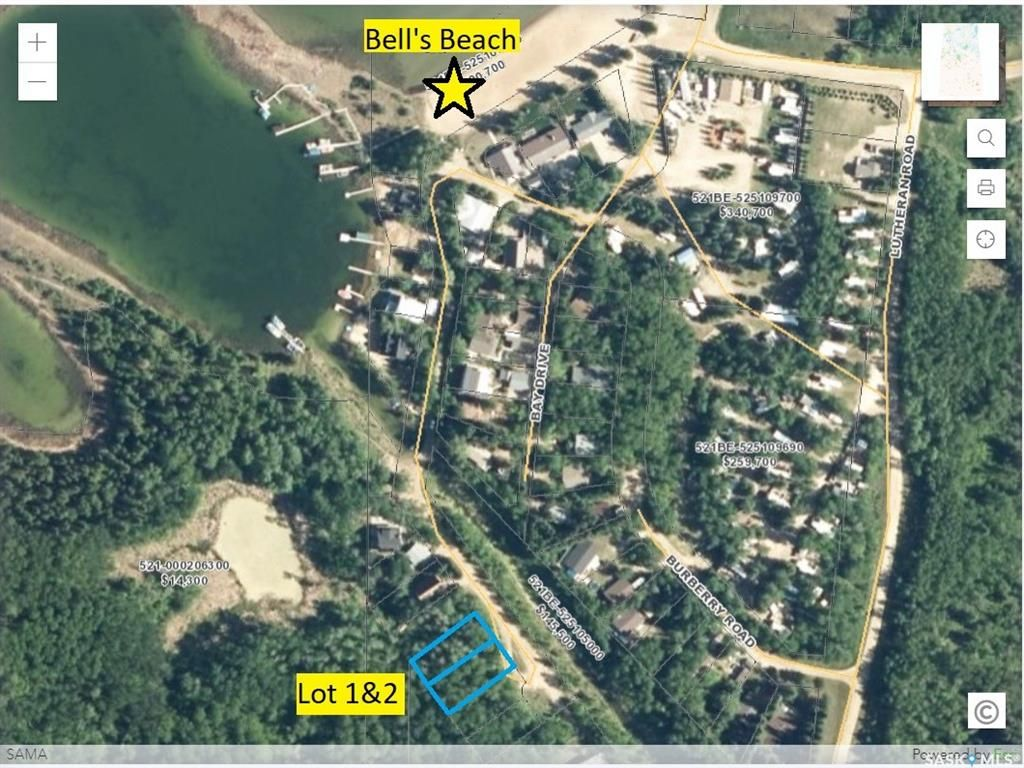 Main Photo: Lot 1 Bay Drive in Christopher Lake: Lot/Land for sale : MLS®# SK859167