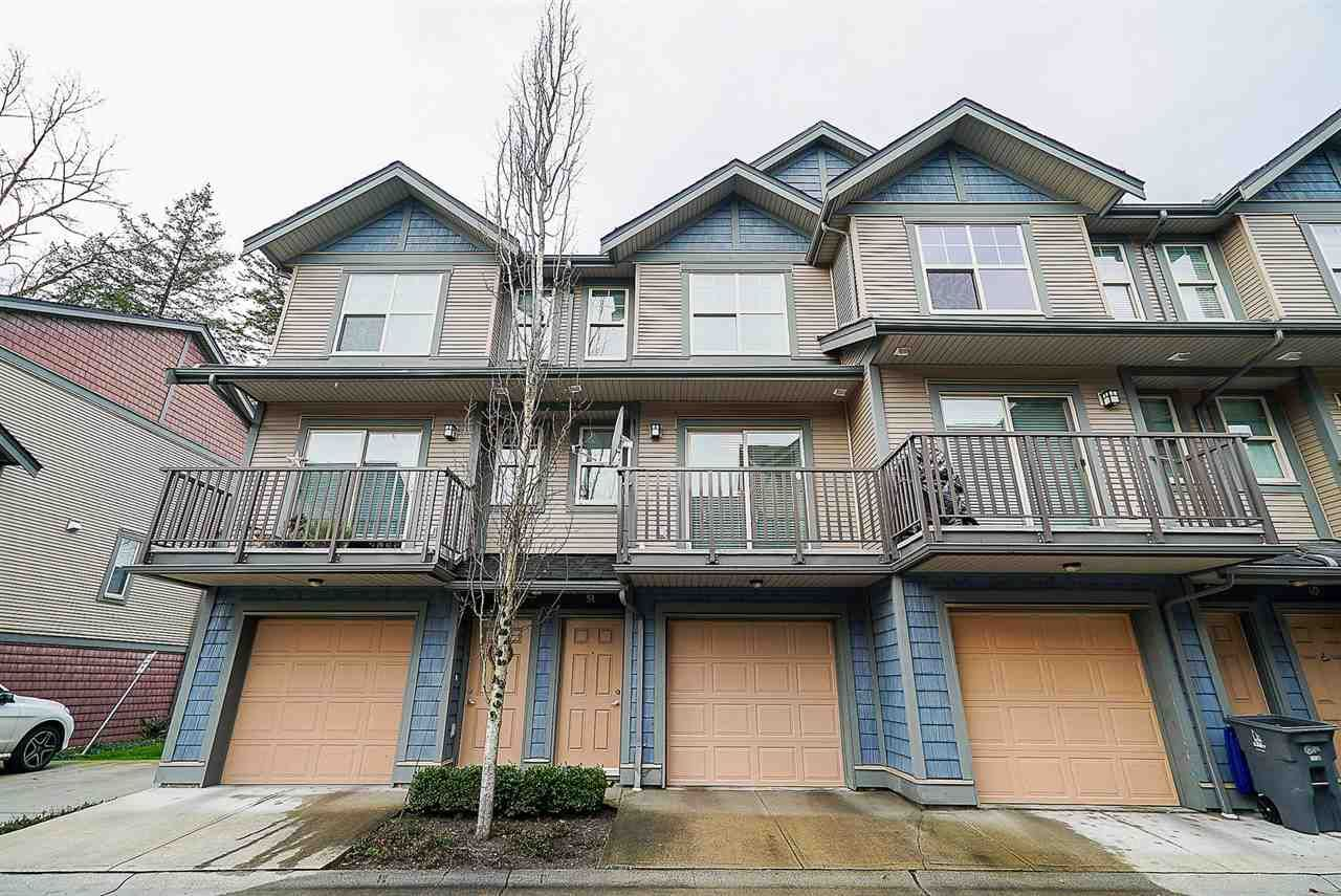 Main Photo: 51 7121 192 STREET in : Clayton Townhouse for sale : MLS®# R2331826