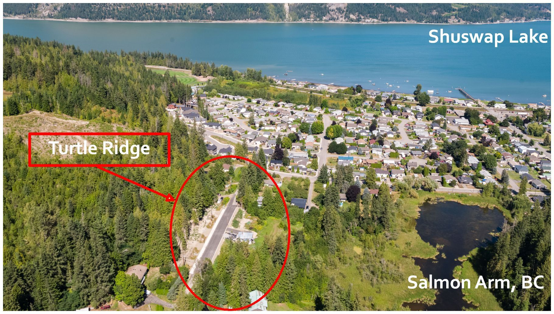 Main Photo: PLA 6810 Northeast 46 Street in Salmon Arm: Canoe Vacant Land for sale : MLS®# 10179387