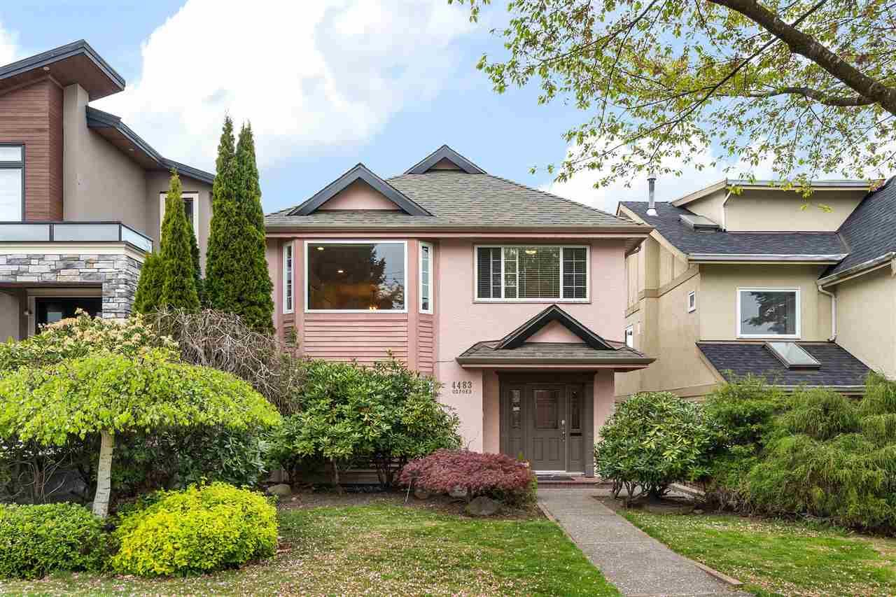 Main Photo: 4483 OXFORD STREET in Burnaby: Vancouver Heights House for sale (Burnaby North)  : MLS®# R2572128