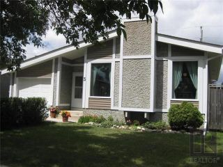 Photo 1: 3 Willowbend Crescent in Winnipeg: River Park South Residential for sale (2F)  : MLS®# 1819626