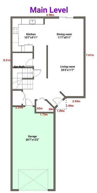 Photo 4: 226 Quigley Drive: Cochrane Semi Detached for sale : MLS®# A1107845
