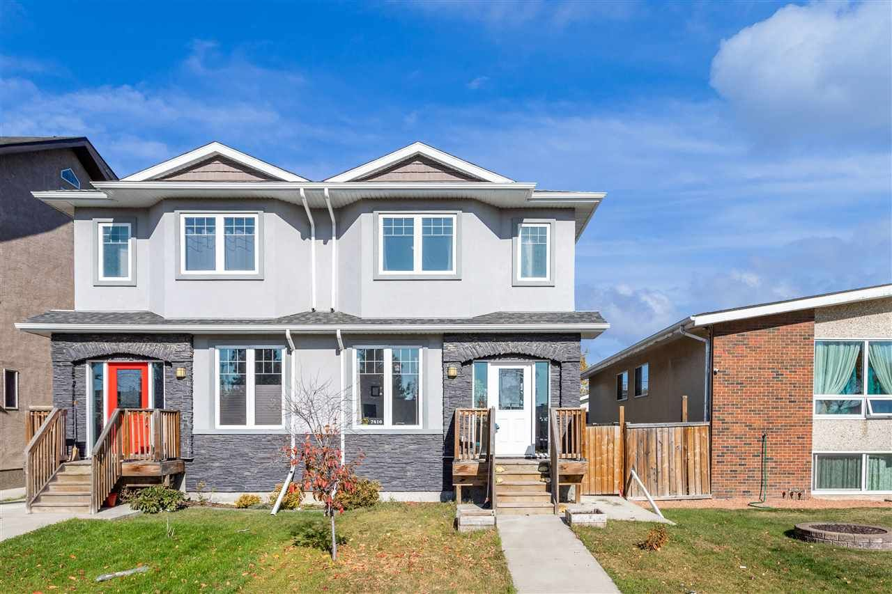 Main Photo: 7416 78 Avenue in Edmonton: Zone 17 House Half Duplex for sale : MLS®# E4216710
