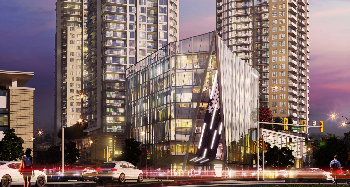 Main Photo: Pre sale assignment Kings Crossing 7388 Kingsway Burnaby BC