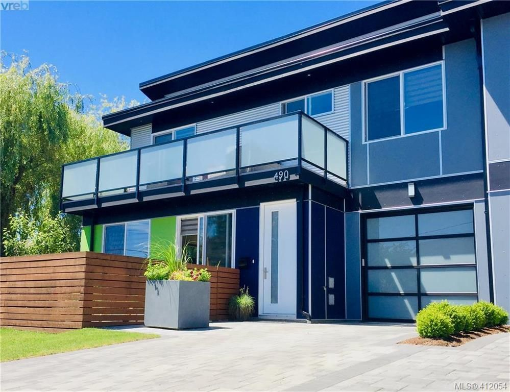 Main Photo: 490 South Joffre St in VICTORIA: Es Saxe Point Half Duplex for sale (Esquimalt)  : MLS®# 816980