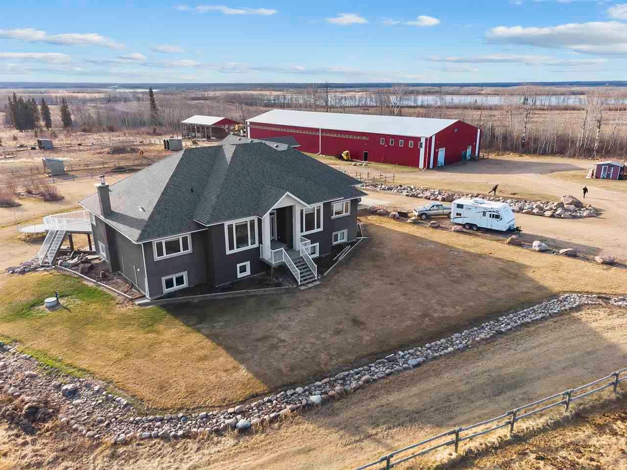 Main Photo: 61016 HWY 897: Rural Bonnyville M.D. House for sale : MLS®# E4240675