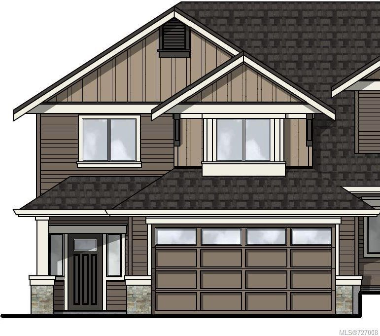 Main Photo: 107 3439 Ambrosia Cres in Langford: La Happy Valley Row/Townhouse for sale : MLS®# 727008