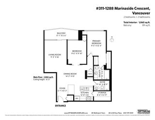 """Photo 28: 311 1288 MARINASIDE Crescent in Vancouver: Yaletown Condo for sale in """"Crestmark I"""" (Vancouver West)  : MLS®# R2602916"""