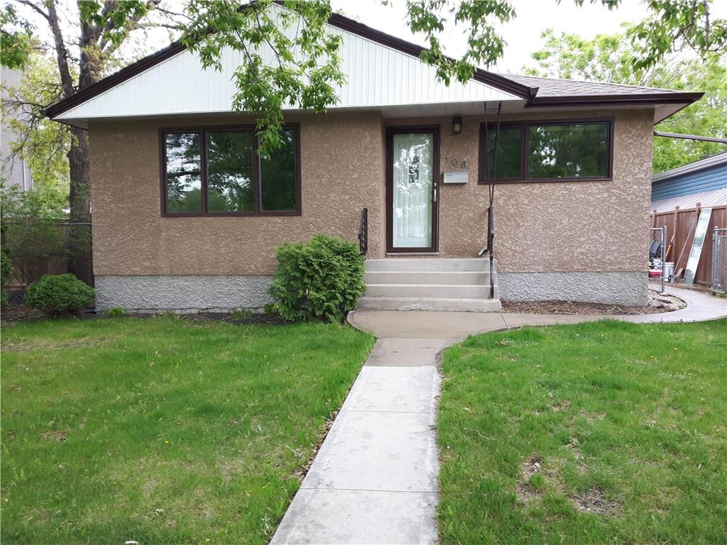 Main Photo: 106 Thorndale Avenue in Winnipeg: Residential for sale (2D)  : MLS®# 202113603