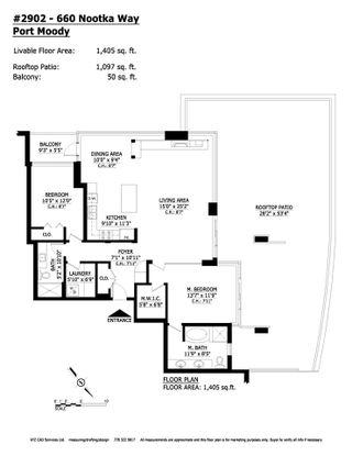 Photo 40: 2902 660 NOOTKA WAY in Port Moody: Port Moody Centre Condo for sale : MLS®# R2514009