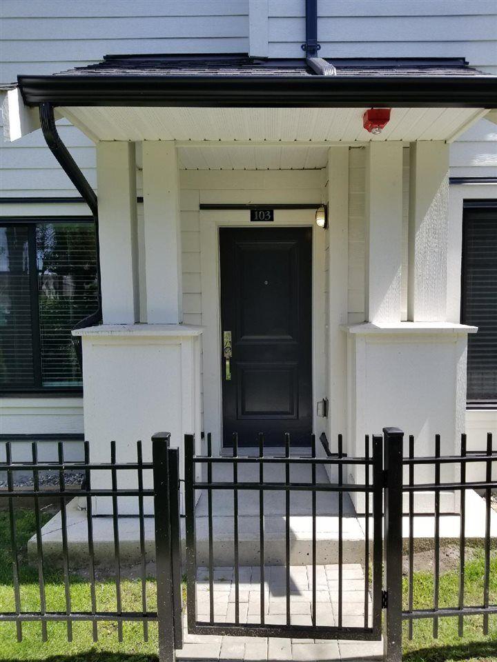 Main Photo: 103 16528 24A Avenue in Surrey: Grandview Surrey Townhouse for sale (South Surrey White Rock)  : MLS®# R2474739