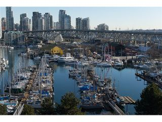 """Photo 3: 911 1450 PENNYFARTHING Drive in Vancouver: False Creek Condo for sale in """"HARBOUR COVE"""" (Vancouver West)  : MLS®# V1045664"""