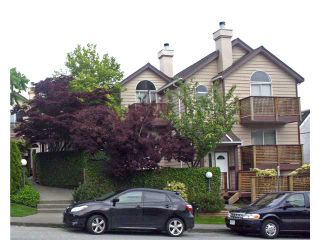 """Photo 1: 642 ST GEORGES Avenue in North Vancouver: Lower Lonsdale Townhouse for sale in """"ST GEORGES COURT"""" : MLS®# V899118"""
