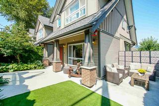 Photo 1: 6 2115 Spring Street in Port Moody: Port Moody Centre Townhouse for sale : MLS®# R2415131