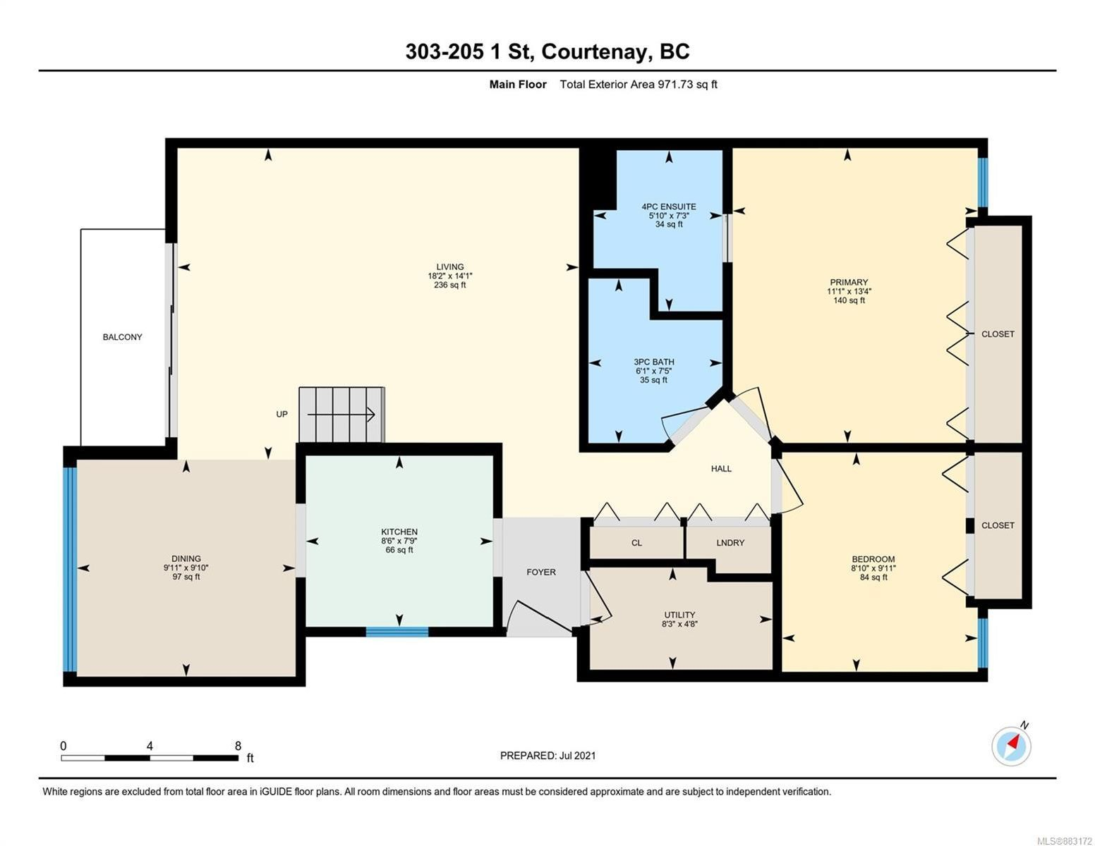 Photo 29: Photos: 303 205 1st St in : CV Courtenay City Row/Townhouse for sale (Comox Valley)  : MLS®# 883172