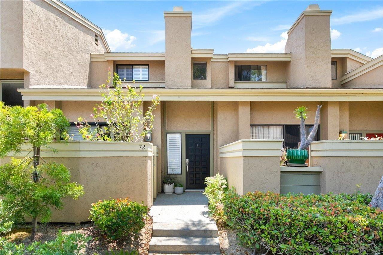 Main Photo: LA JOLLA Townhouse for sale : 3 bedrooms : 3230 Caminito Eastbluff #72