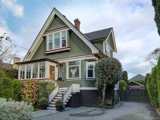 Photo 1: 625 Harbinger Ave in Victoria: Vi Fairfield West Full Duplex for sale : MLS®# 860340