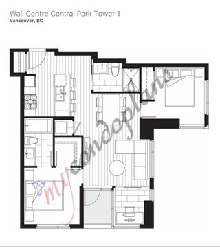 """Photo 31: 2507 5665 BOUNDARY Road in Vancouver: Collingwood VE Condo for sale in """"WALL CENTRE CENTRAL PARK SOUTH"""" (Vancouver East)  : MLS®# R2539277"""
