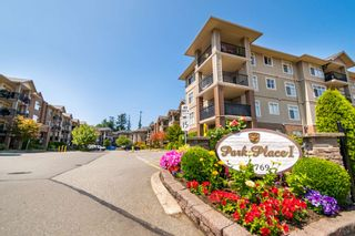 """Photo 1: 315 45769 STEVENSON Road in Chilliwack: Sardis East Vedder Rd Condo for sale in """"Park Place I"""" (Sardis)  : MLS®# R2602356"""