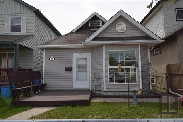 Main Photo: 1548 Alexander Avenue in Winnipeg: Weston Residential for sale (5D)  : MLS®# 1827979