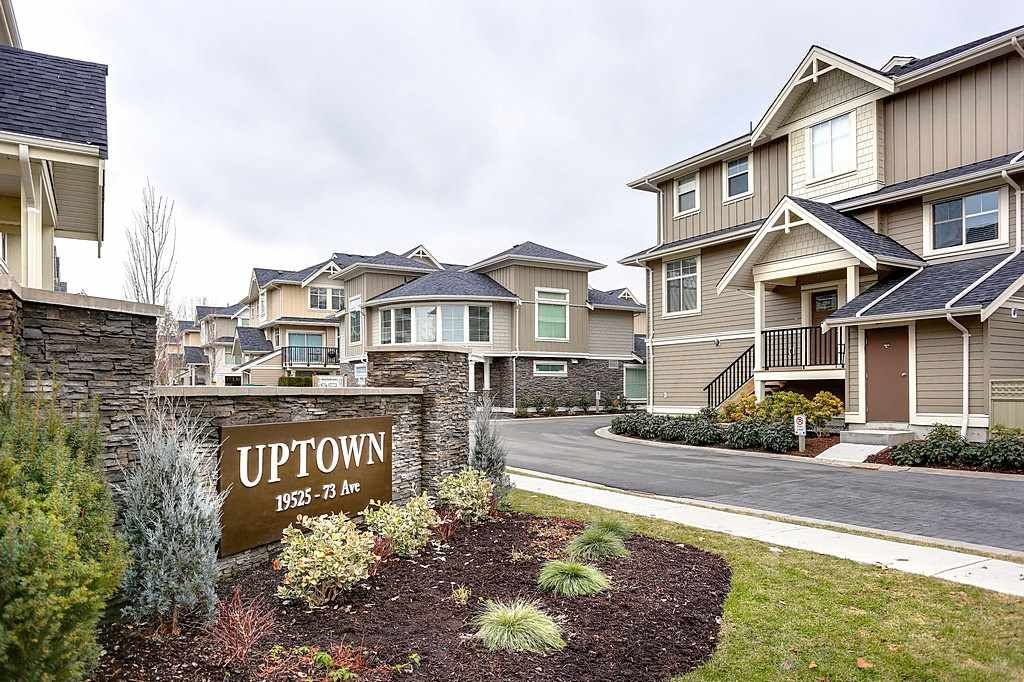 """Main Photo: 6 19525 73 Avenue in Surrey: Clayton Townhouse for sale in """"UPTOWN"""" (Cloverdale)  : MLS®# R2135656"""
