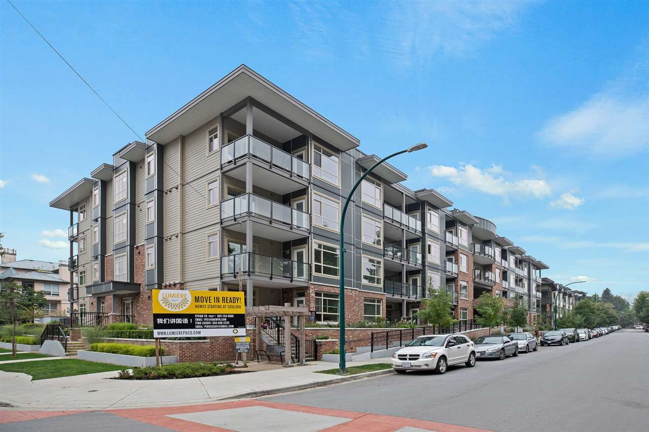 "Main Photo: 307 2436 KELLY Avenue in Port Coquitlam: Central Pt Coquitlam Condo for sale in ""LUMIERE"" : MLS®# R2521638"