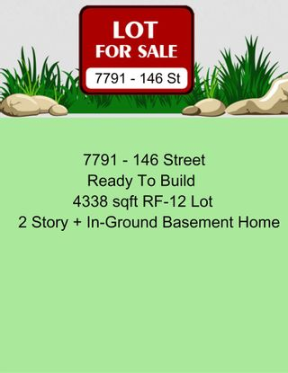 Photo 1: 7791 146 Street in Surrey: East Newton Land for sale : MLS®# R2530869