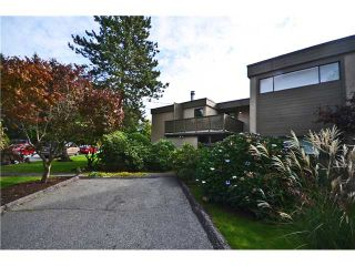 Main Photo: 1295 PLATEAU Drive in North Vancouver: Pemberton Heights Townhouse for sale : MLS®# V1031985
