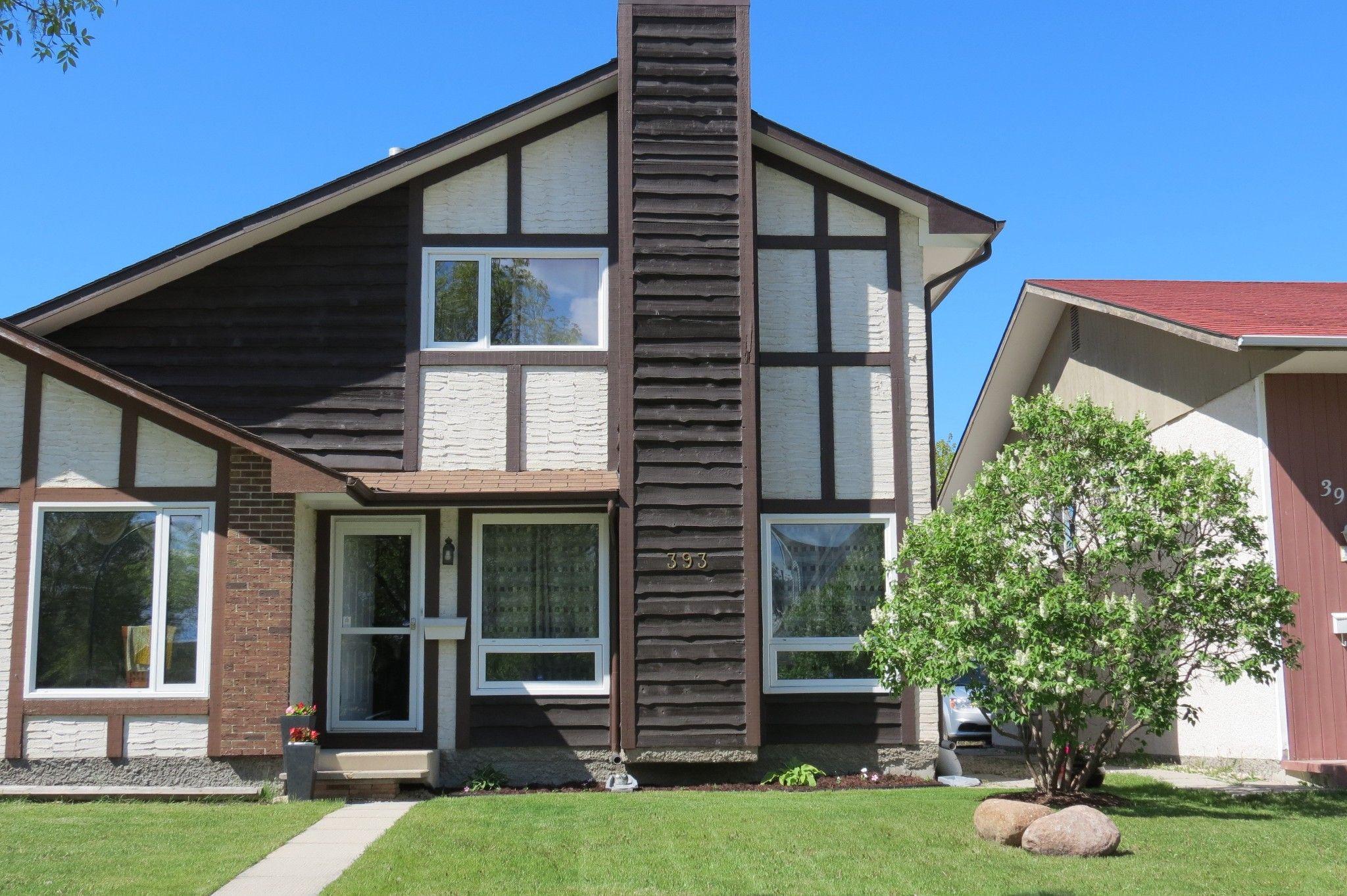 Main Photo: 393 Nova Vista Drive in Winnipeg: Single Family Attached for sale (2E)  : MLS®# 1713026