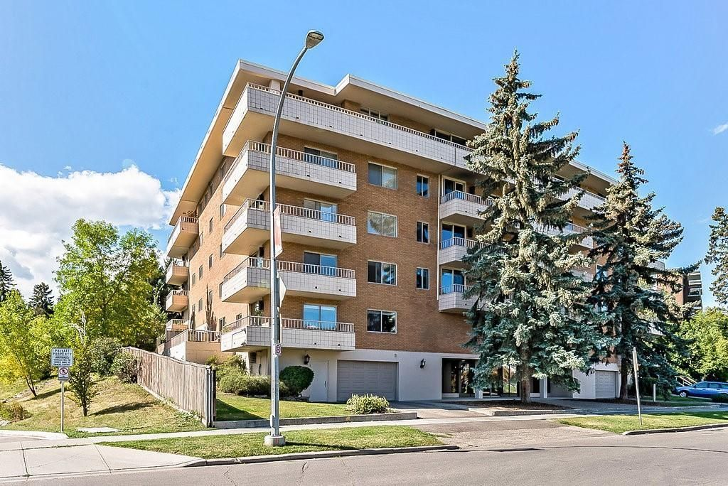 Main Photo: 604 629 Royal Avenue SW in Calgary: Upper Mount Royal Apartment for sale : MLS®# A1132181