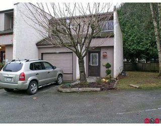 Photo 1: 3455 WRIGHT Street in Abbotsford: Abbotsford East Townhouse for sale : MLS®# F2627040