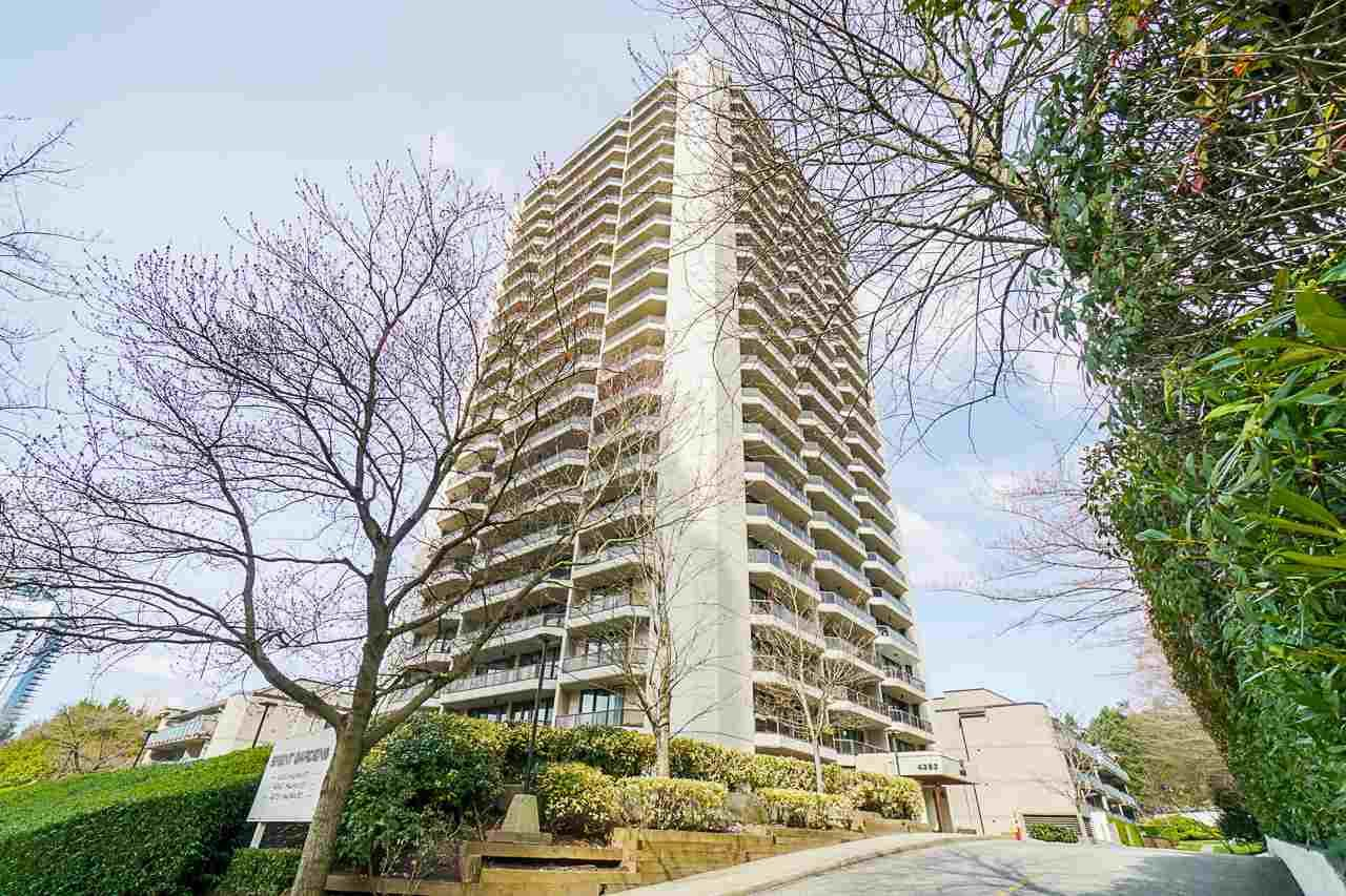 """Main Photo: 2405 4353 HALIFAX Street in Burnaby: Brentwood Park Condo for sale in """"BRENT GARDENS"""" (Burnaby North)  : MLS®# R2554389"""