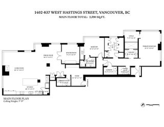 """Photo 39: 1402 837 W HASTINGS Street in Vancouver: Downtown VW Condo for sale in """"Terminal City Club"""" (Vancouver West)  : MLS®# R2623272"""