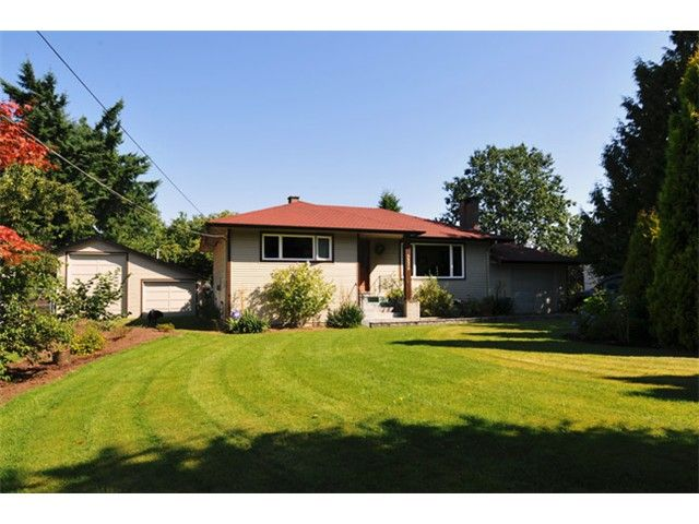"""Main Photo: 22579 124TH Avenue in Maple Ridge: East Central House for sale in """"CENTRAL MAPLE RIDGE"""" : MLS®# V967385"""