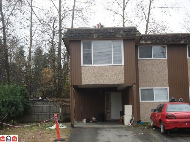 Main Photo: 6 33310 WESTBURY Avenue in Abbotsford: Abbotsford West Townhouse for sale : MLS®# F1104514