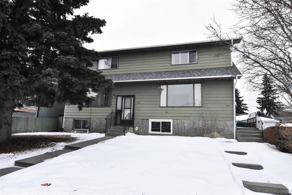 Main Photo: 1121,1123 35 Street SE in Calgary: Albert Park/Radisson Heights Duplex for sale : MLS®# A1073988