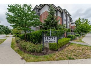 """Photo 2: 14 18777 68A Avenue in Surrey: Clayton Townhouse for sale in """"COMPASS"""" (Cloverdale)  : MLS®# R2096007"""