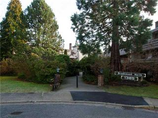 """Photo 1: 414 1385 DRAYCOTT Road in North Vancouver: Lynn Valley Condo for sale in """"BROOKWOOD NORTH"""" : MLS®# V860475"""