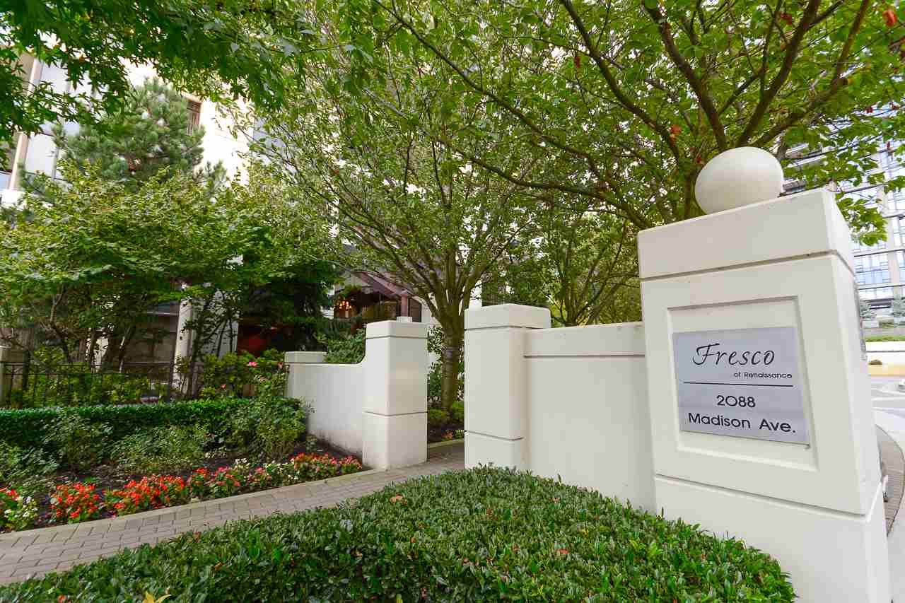 """Main Photo: 2305 2088 MADISON Avenue in Burnaby: Brentwood Park Condo for sale in """"RENNAISANCE - FRESCO"""" (Burnaby North)  : MLS®# R2215075"""