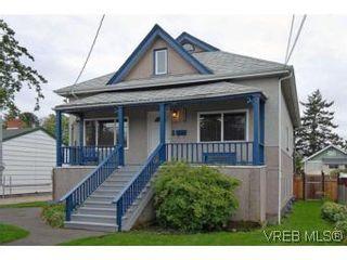 Photo 1: 2222 Shakespeare St in VICTORIA: Vi Fernwood House for sale (Victoria)  : MLS®# 535782