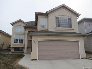 Photo 1: 214 Craigmohr Drive in WINNIPEG: Fort Garry / Whyte Ridge / St Norbert Residential for sale (South Winnipeg)  : MLS®# 1408326