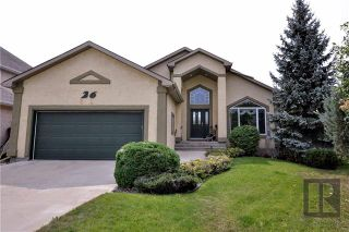 Photo 1: 26 Haverstock Crescent in Winnipeg: Linden Woods Residential for sale (1M)  : MLS®# 1826455